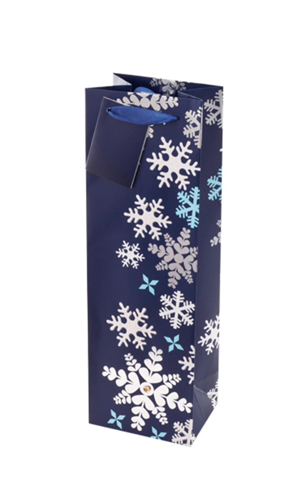 Blue Snowflake Gift Bag