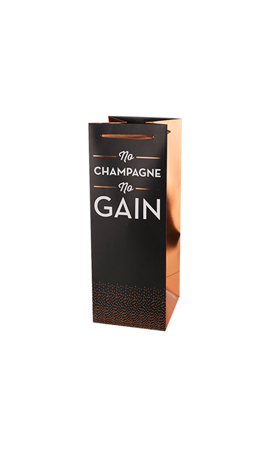 No Champagne No Gain Champagne Bag