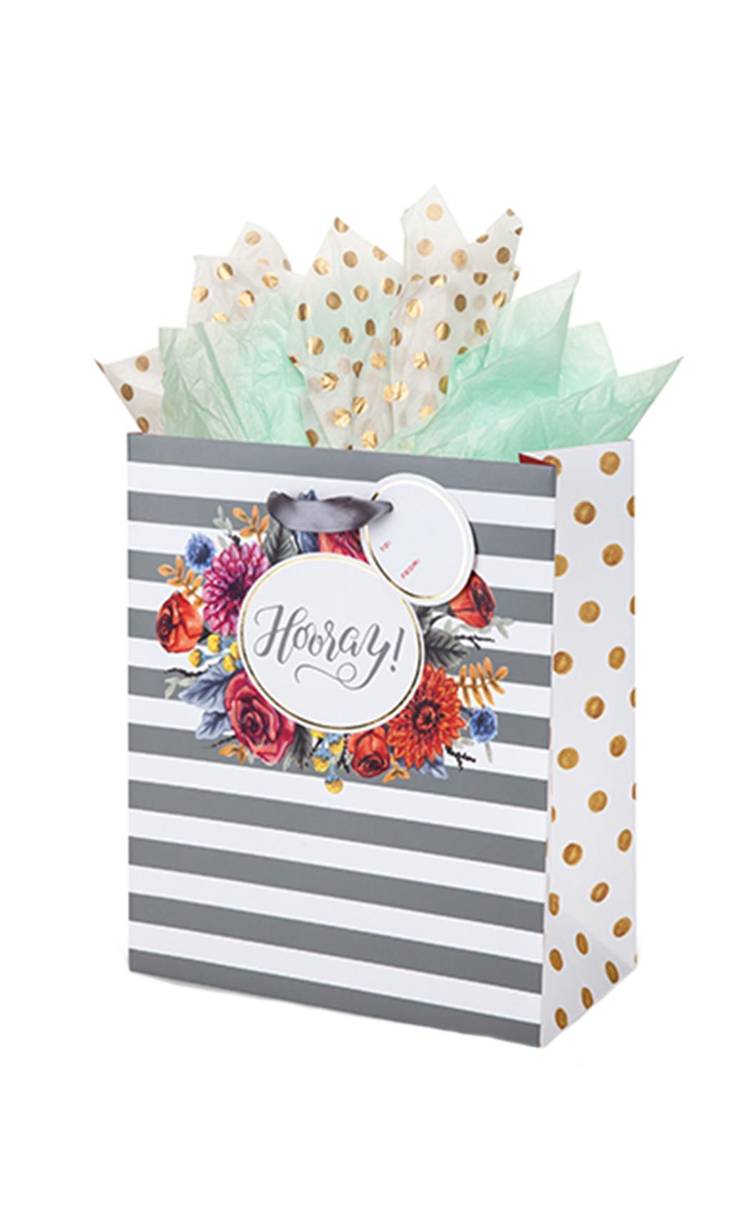 Hooray Bouquet Medium Gift Bag