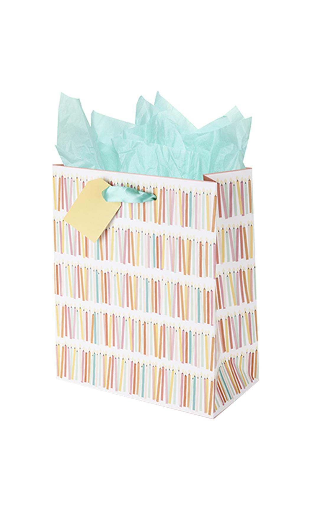 Marketplace Birthday Candle Medium Gift Bag