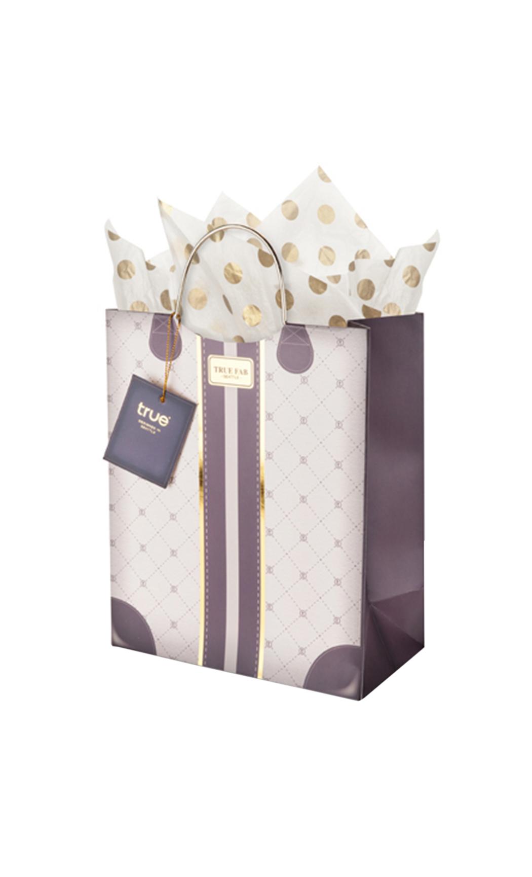 Mocha Medium Gift Bag