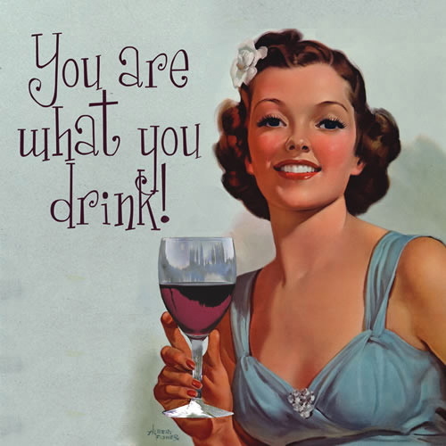 You Are What You Drink Napkins (Set of 20)
