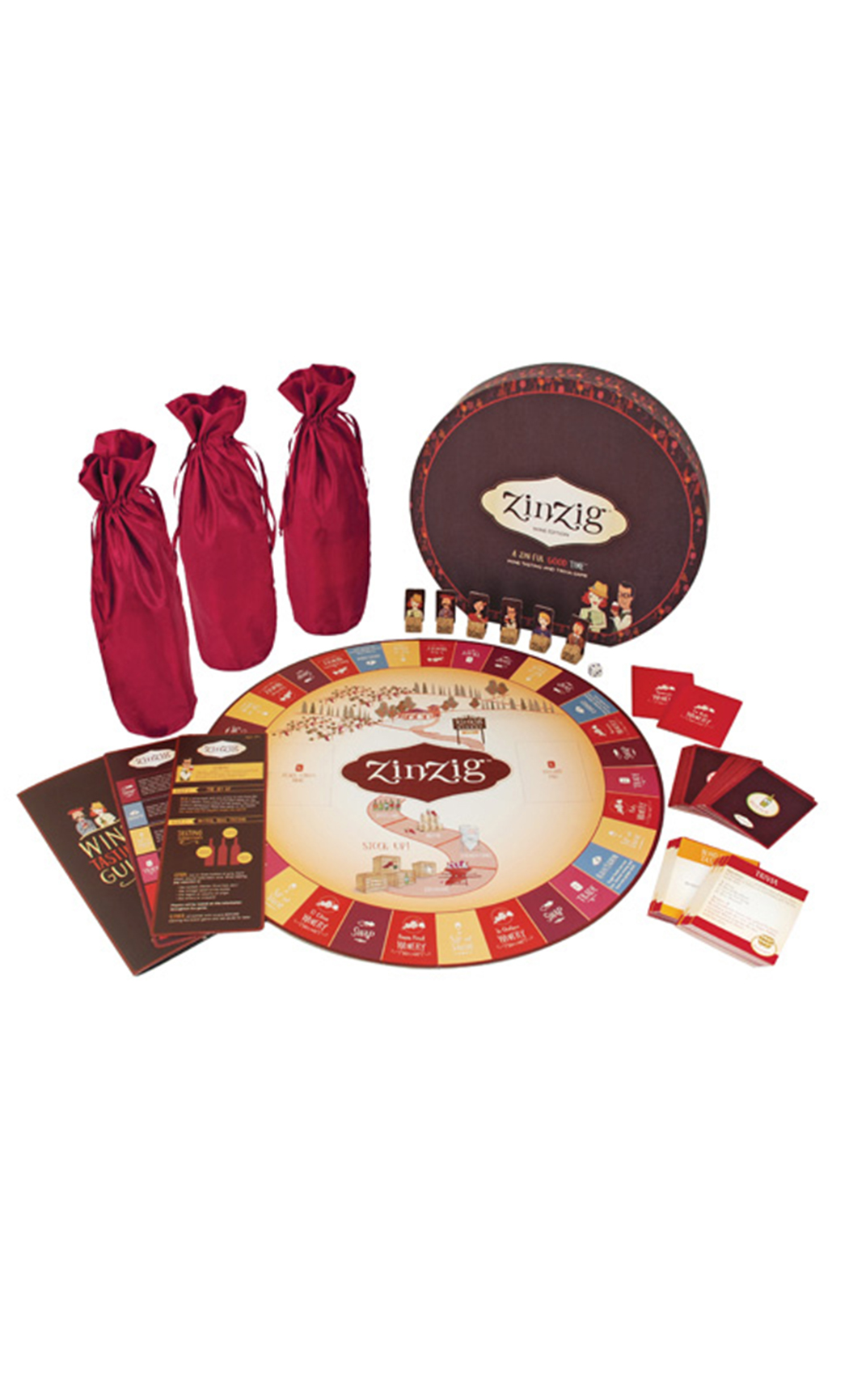Zinzig : A wine tasting and trivia game
