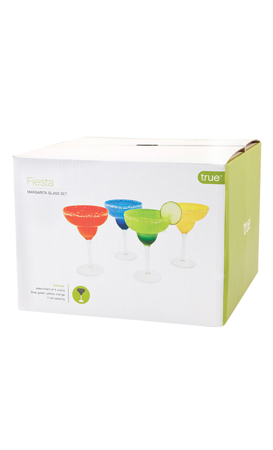 Fiesta Margarita Glasses Set (4 Pieces)