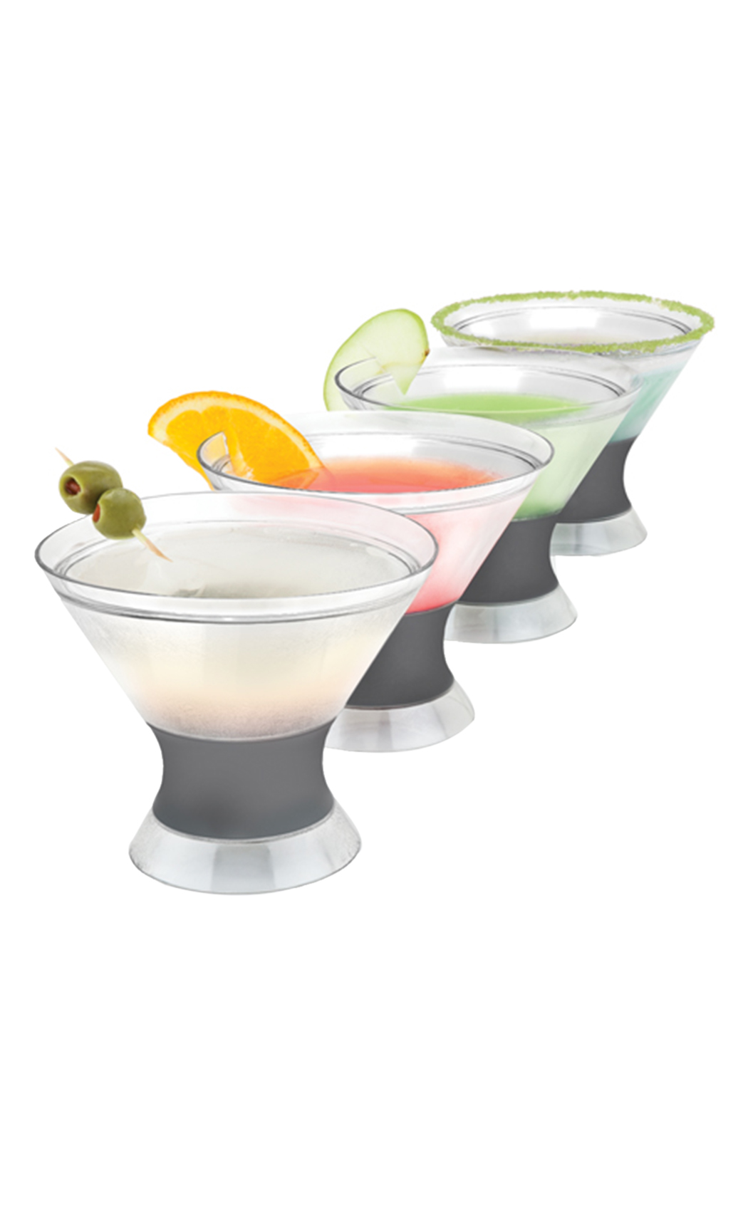Martini Freeze Cooling Cups (Set of 2)