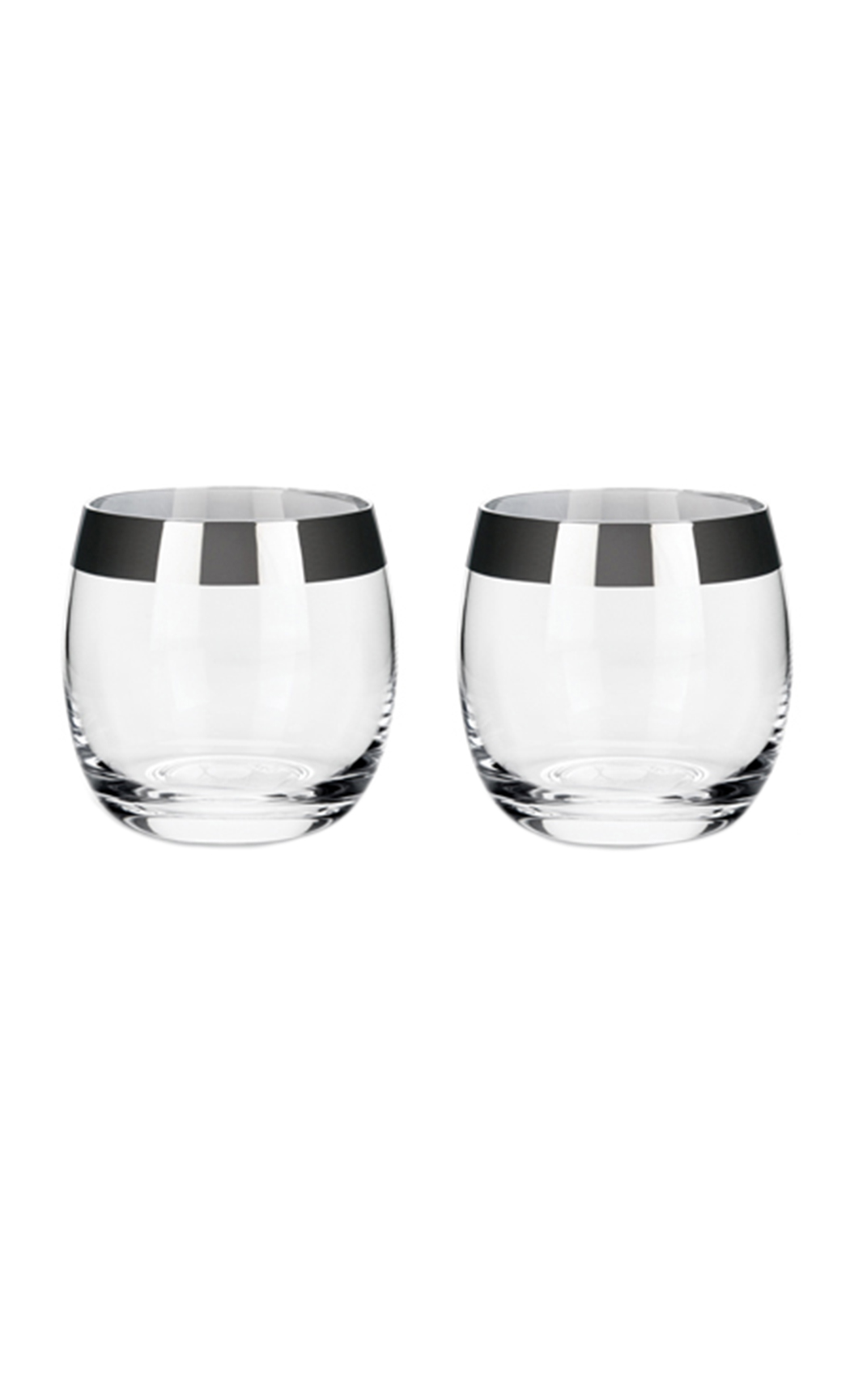 Irving: Chrome Rim Tumbler Set
