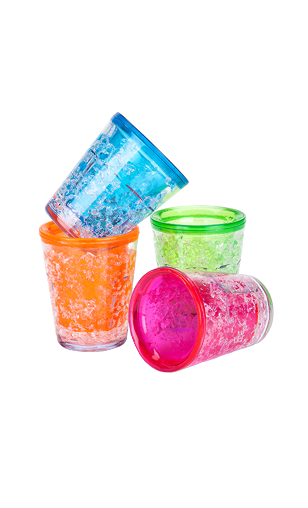 Snowbow: Freezable Shot Glasses