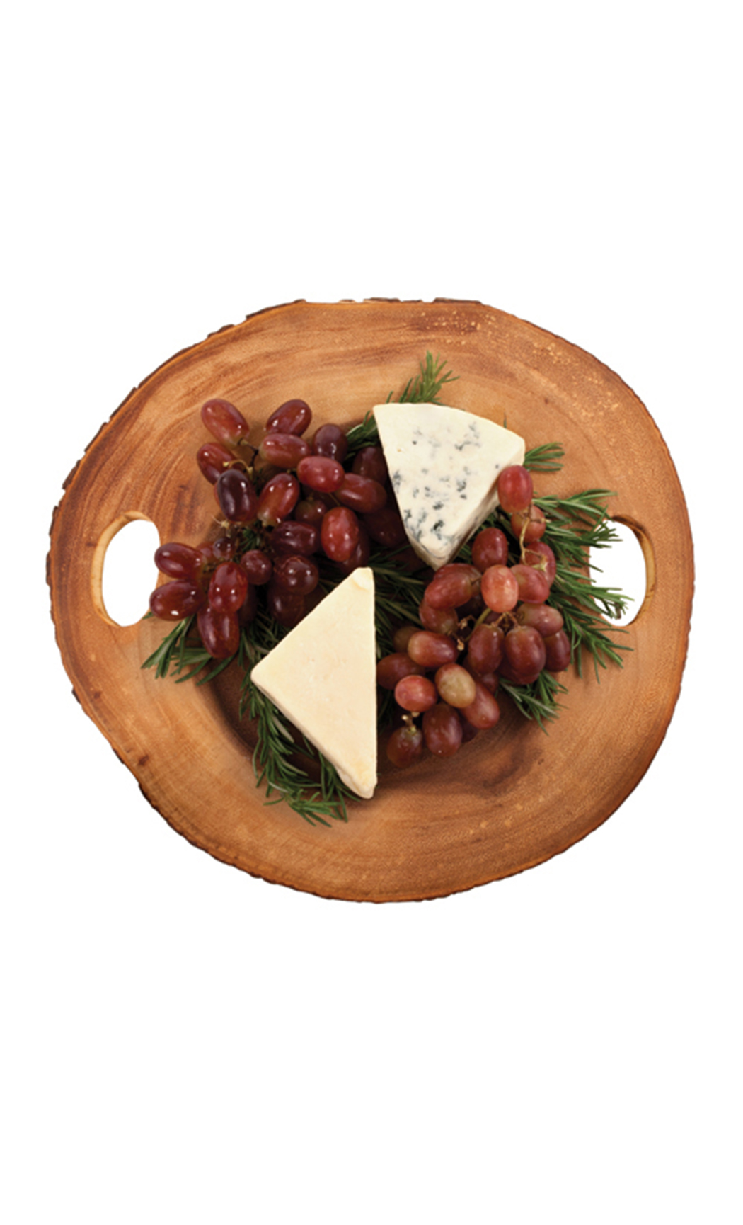 Rustic Famhouse: Wood Slice Cheeseboard