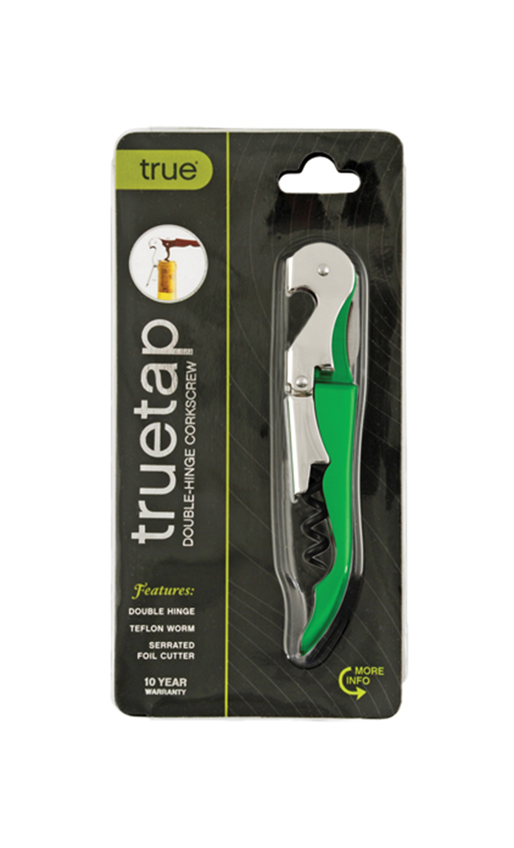 Metallic Green TRUEtap Corkscrew