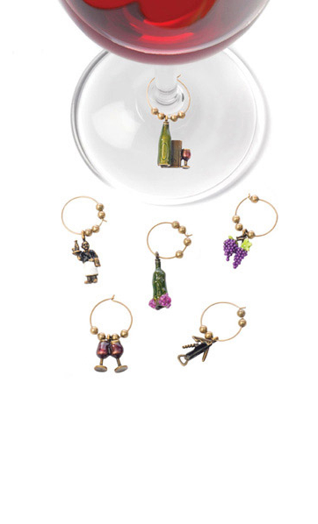 Wine Connoisseur (Stem Charms)