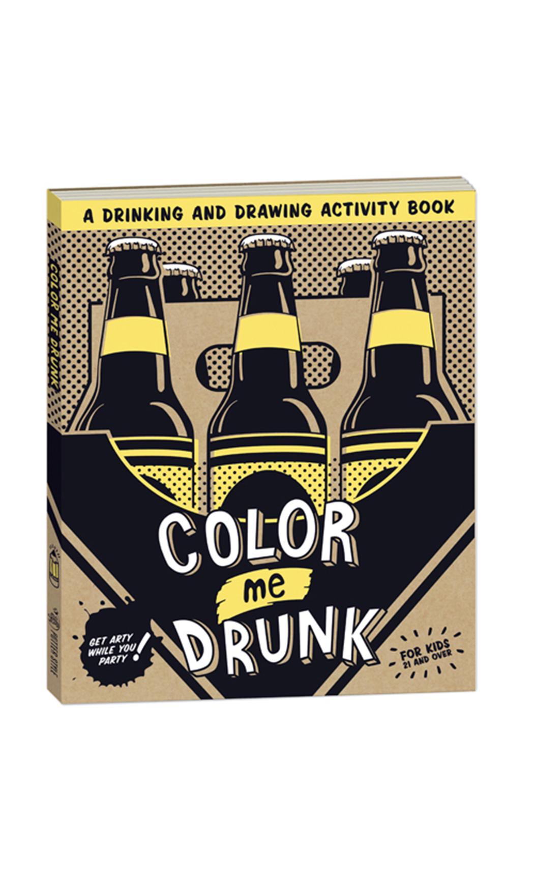 Color Me Drunk Activity Book
