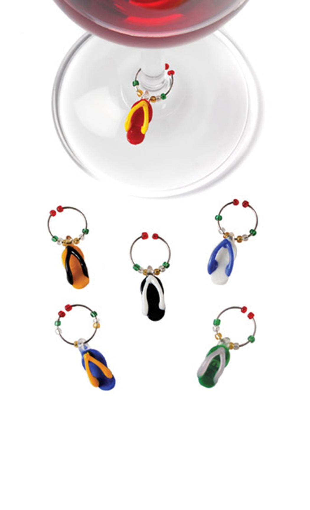 Glass Flip Flops (Stem Charms)