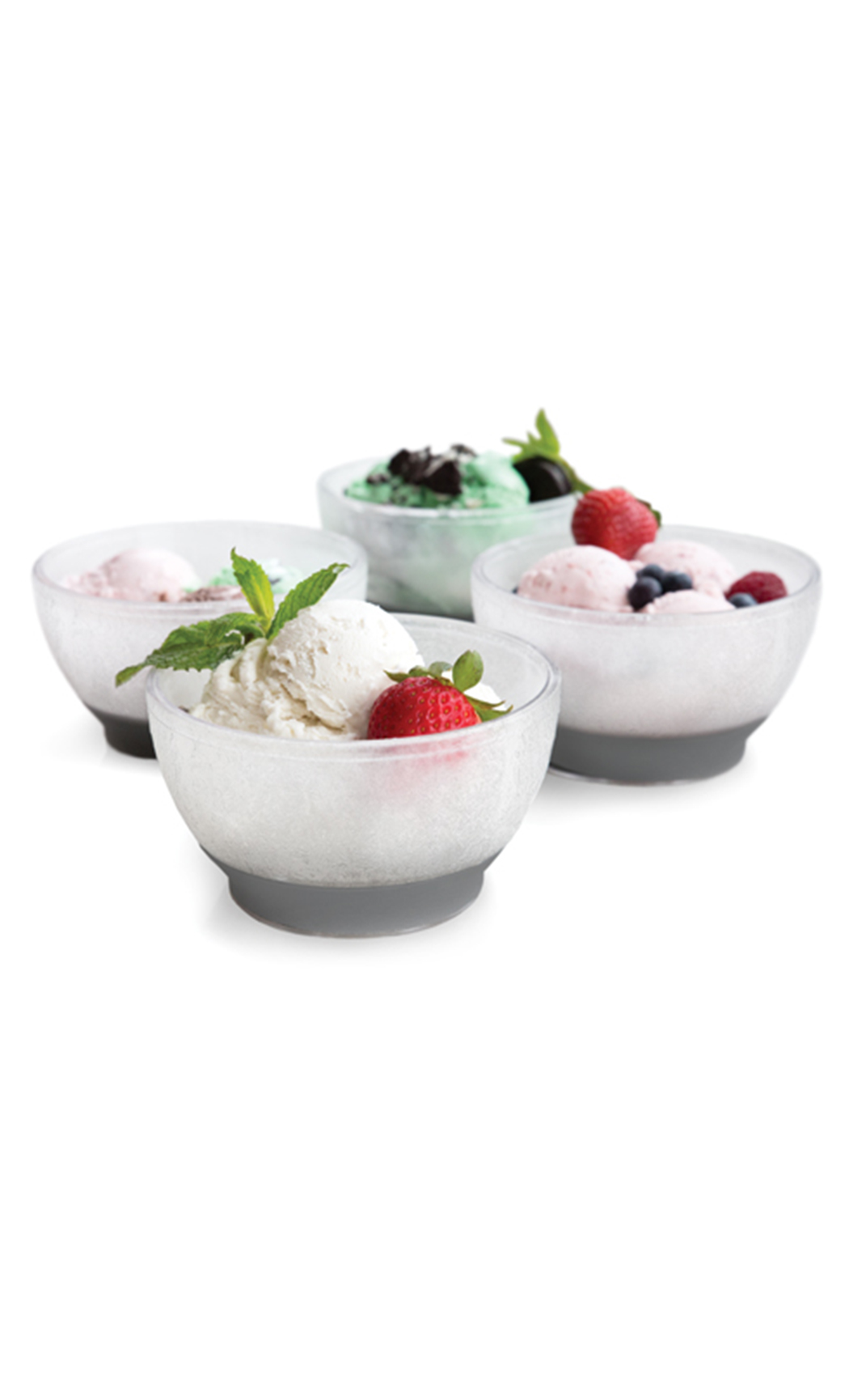 Ice Cream Freeze Cooling Bowl