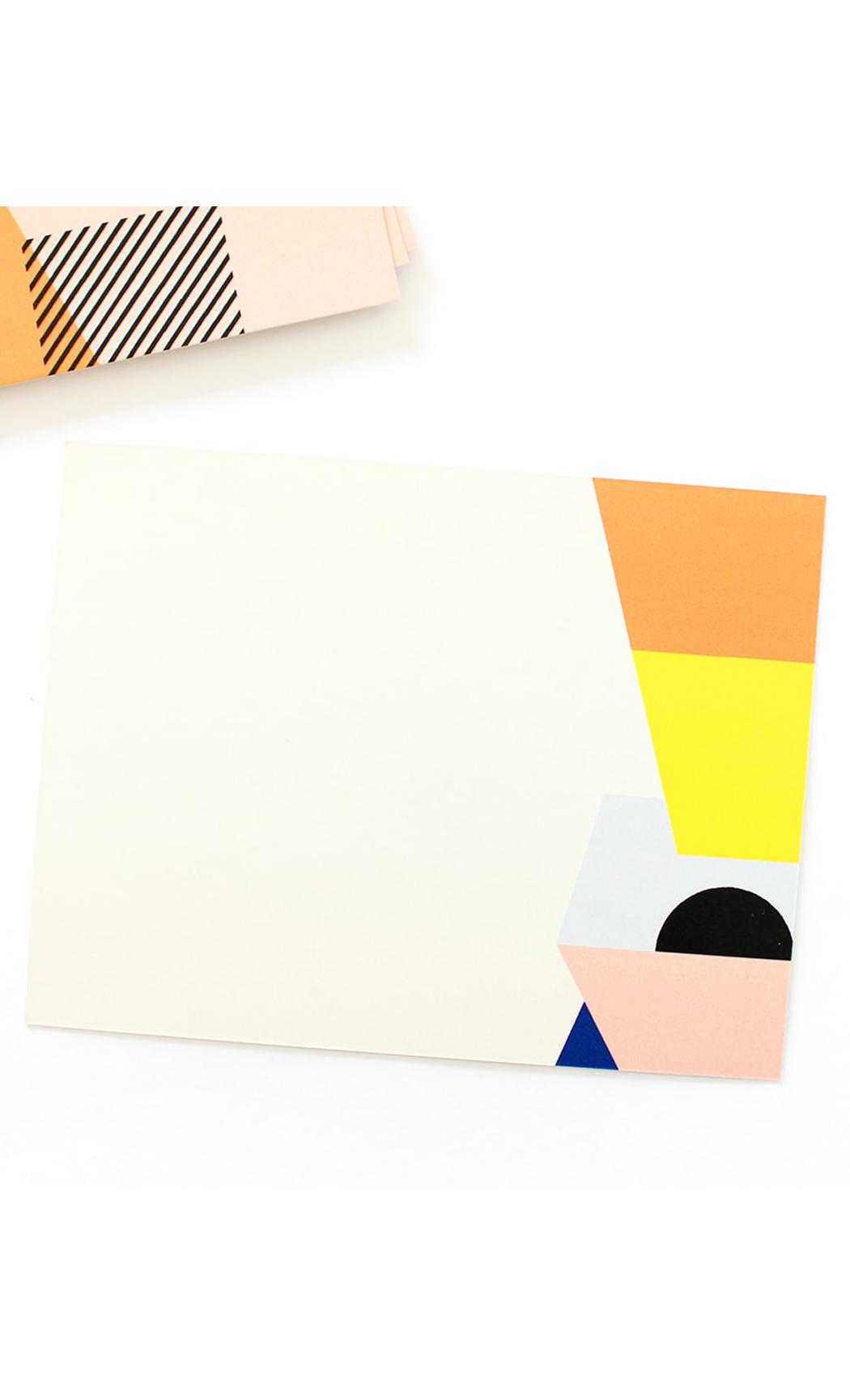 Modern Jumble Notecards