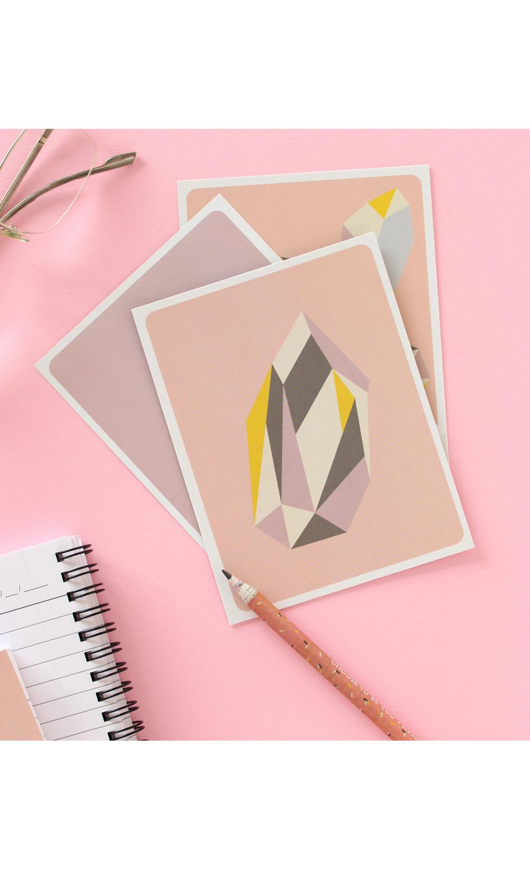 Gemstones Notecards