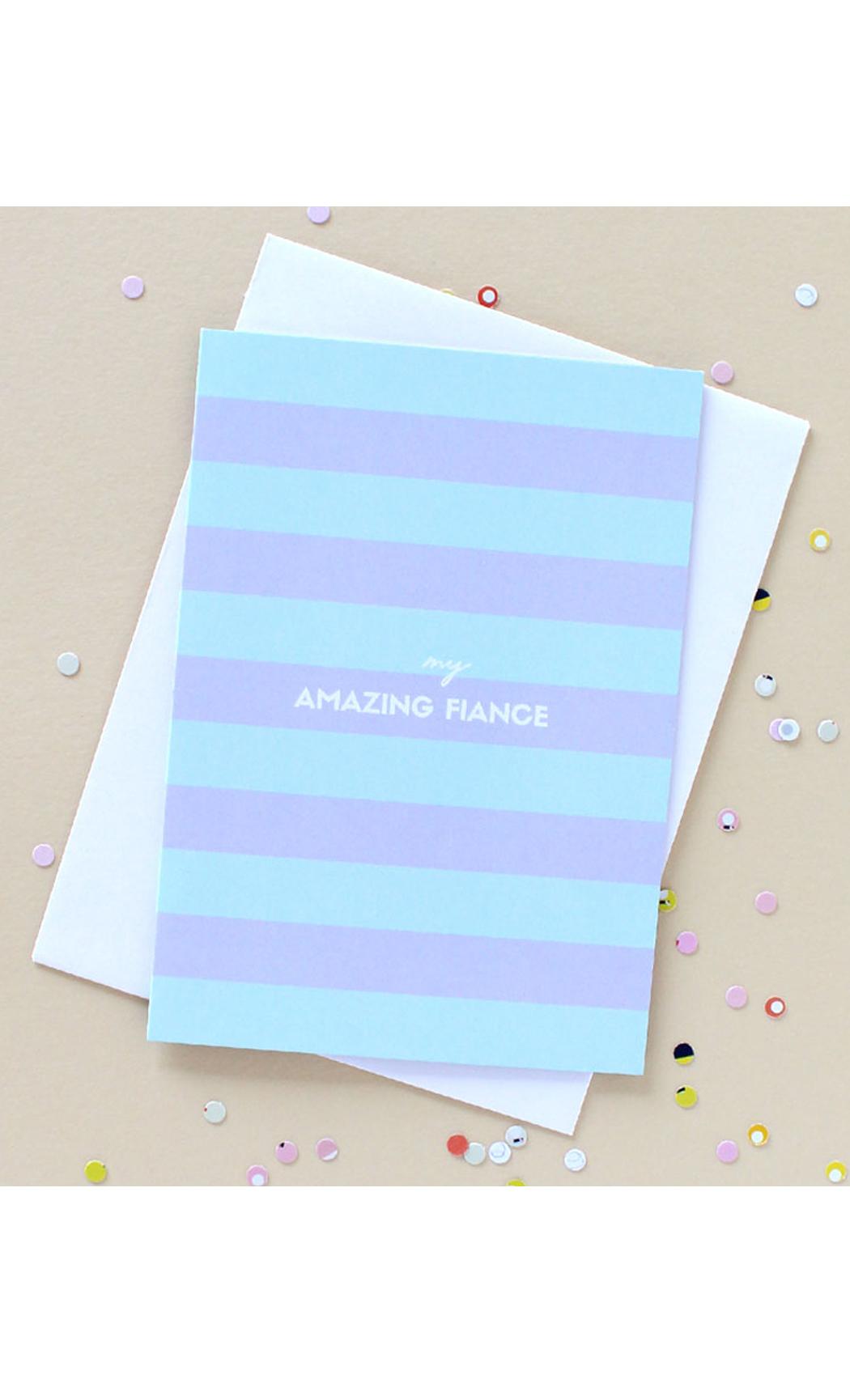 Fiance Greeting Card