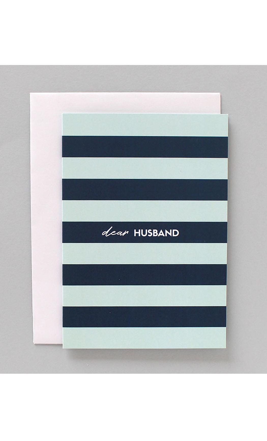 Dear Husband Greeting Card