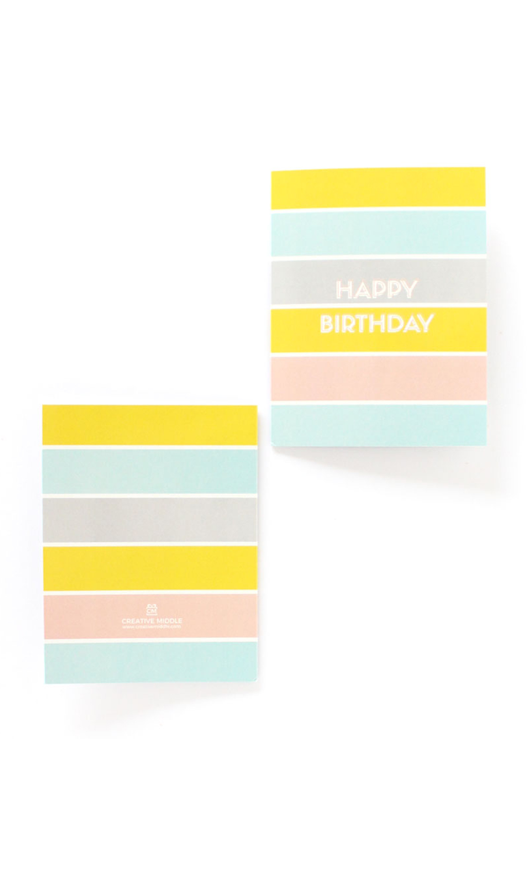 Sorbet Birthday Greeting Card