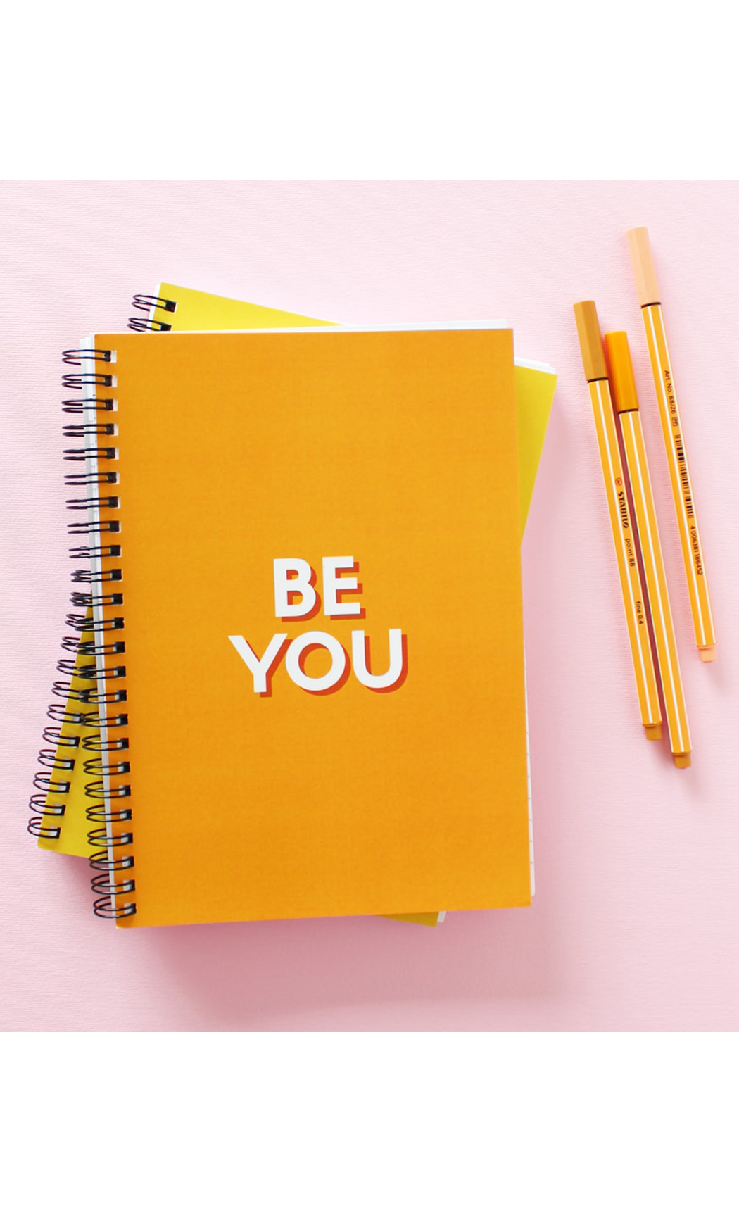Be You Quote Notebook