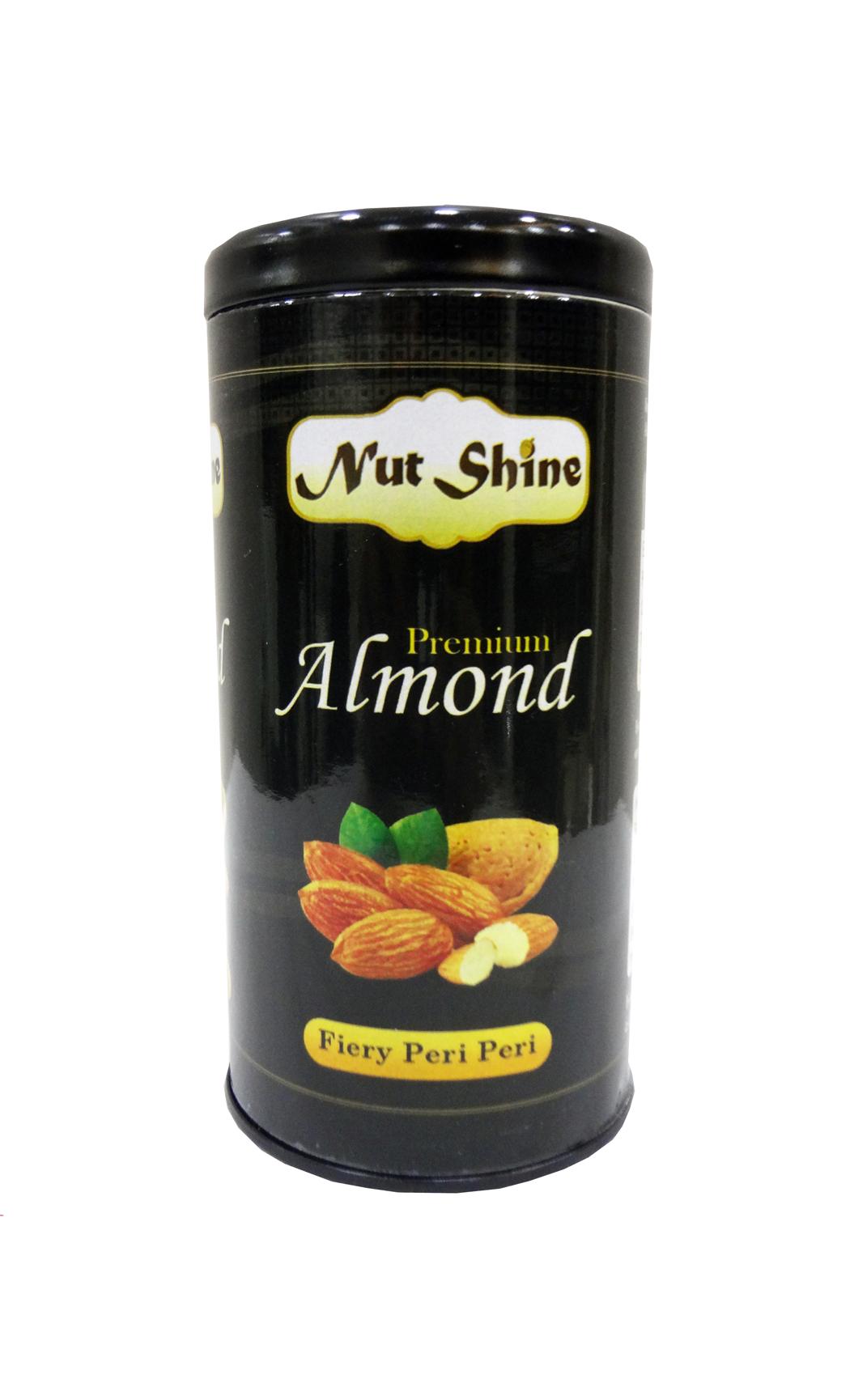 Fiery Peri Peri Almonds 180gms - Buy Online