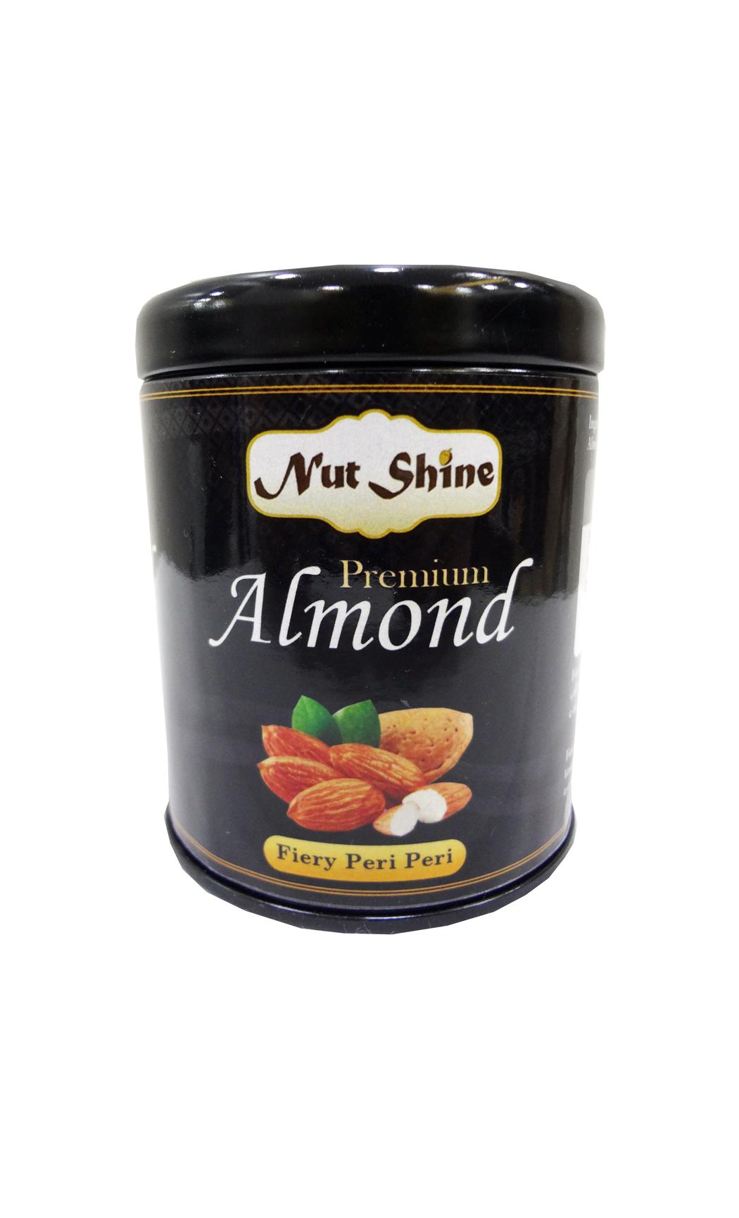 Fiery Peri Peri Almonds 90gms - Buy Online