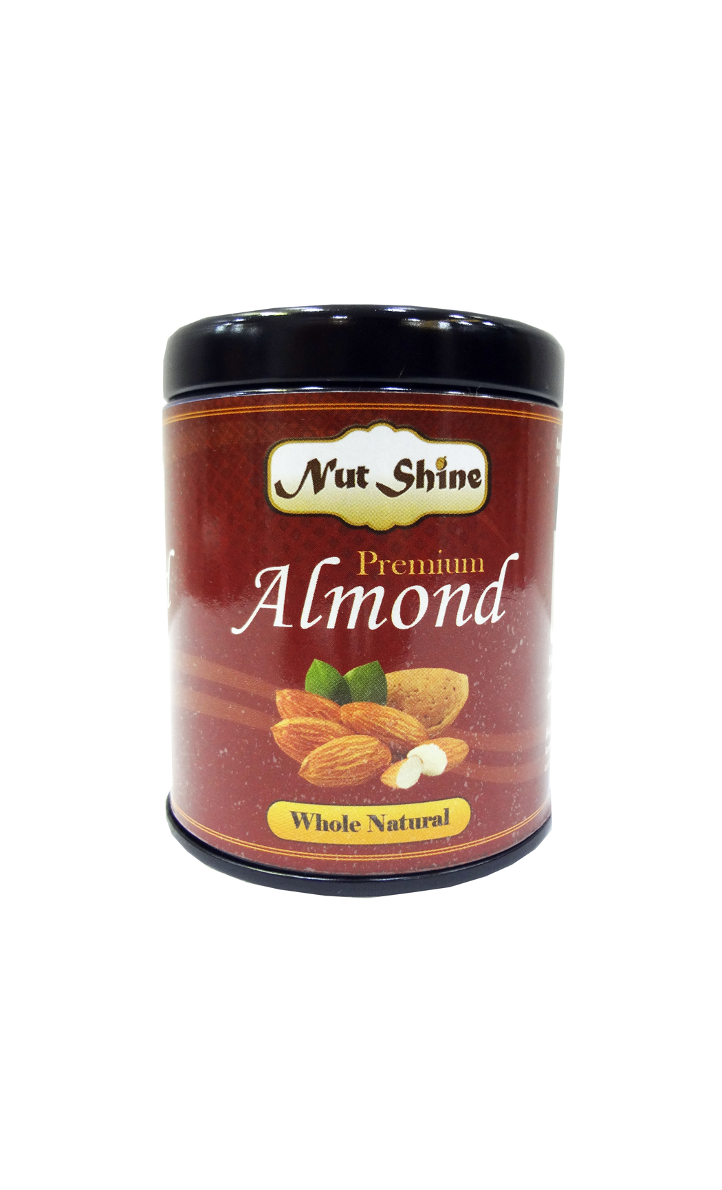 Whole Natural Almonds 90gms - Buy Online