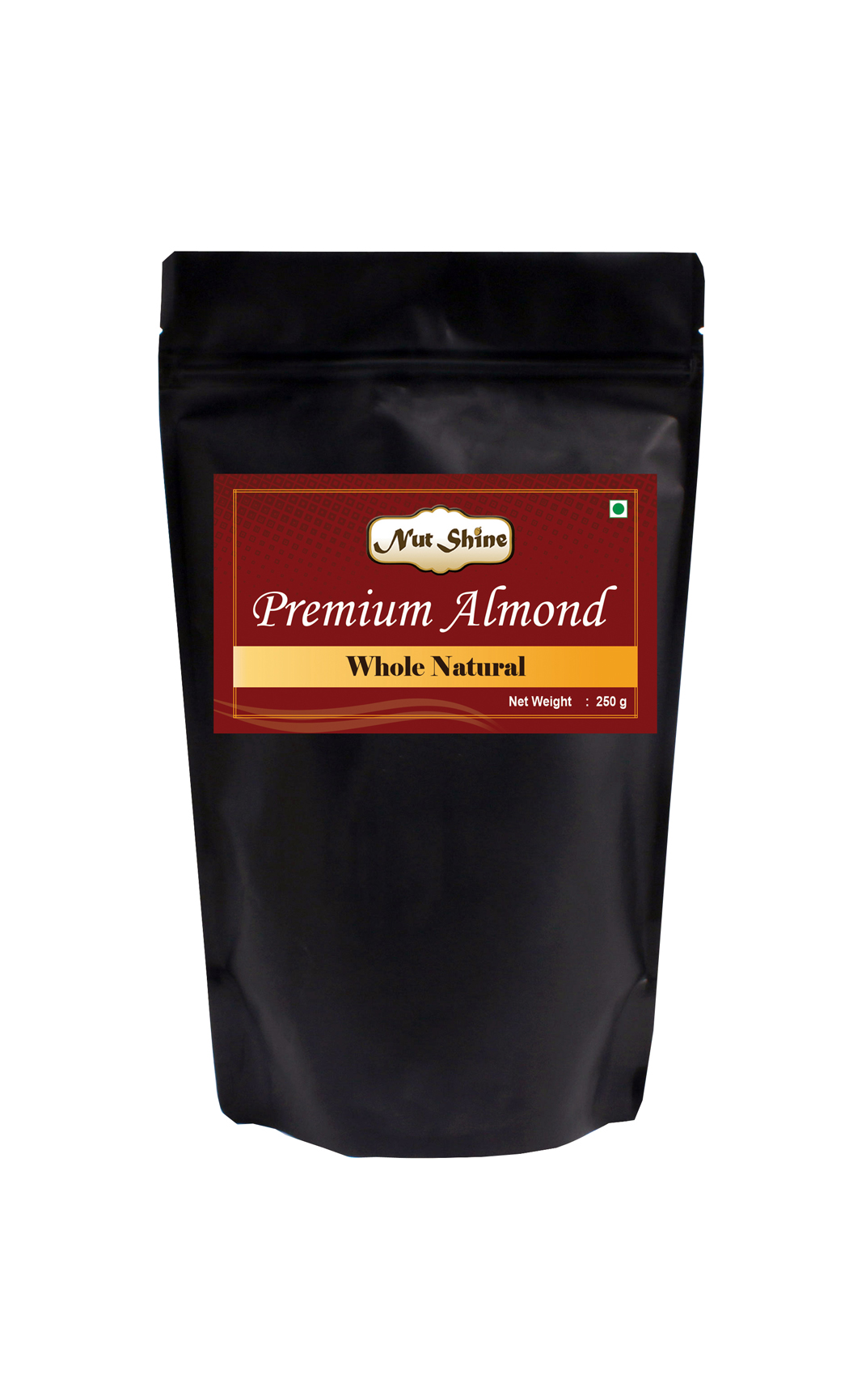 Whole Natural Almonds 250gms - Buy Online