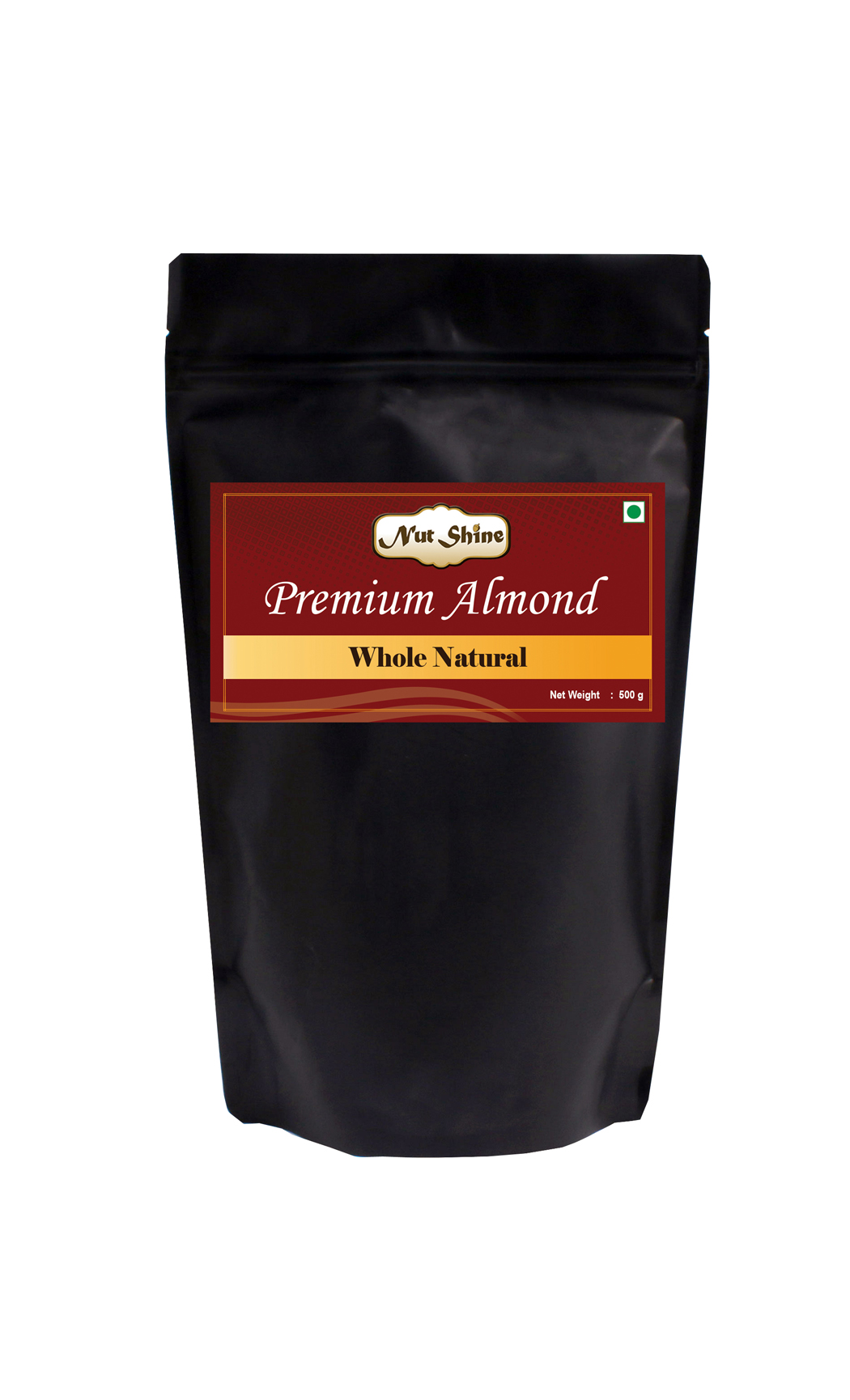 Whole Natural Almonds 500gms - Buy Online