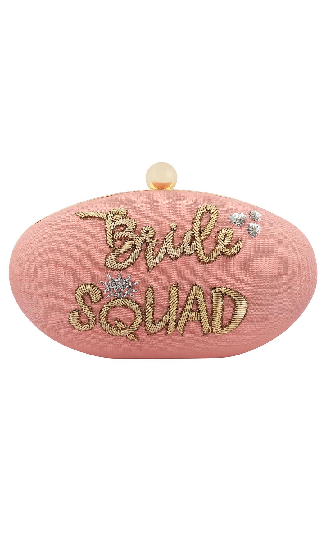 Bride Squad Clutch