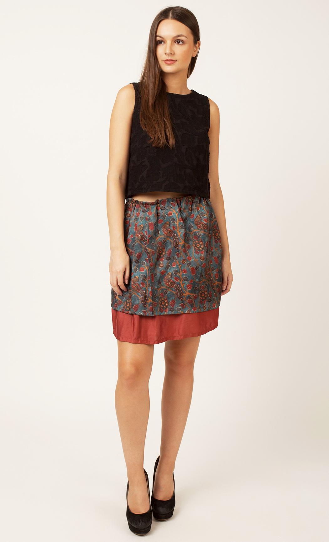 Multicolor Printed Skirt. Buy Online