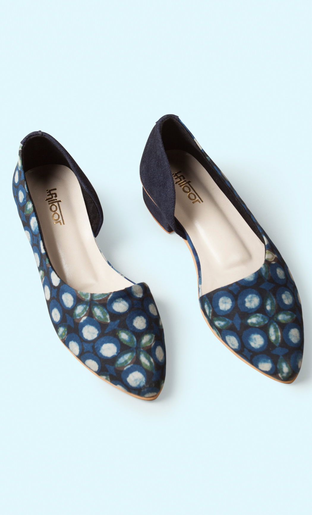 Indigo Printed Sandals. Buy Online.