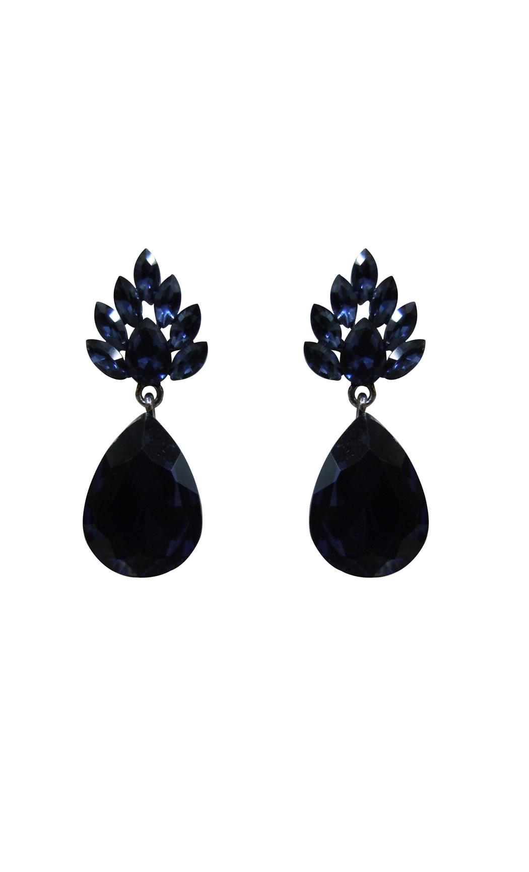 Emerald Drop Cut Earrings - Shop Online