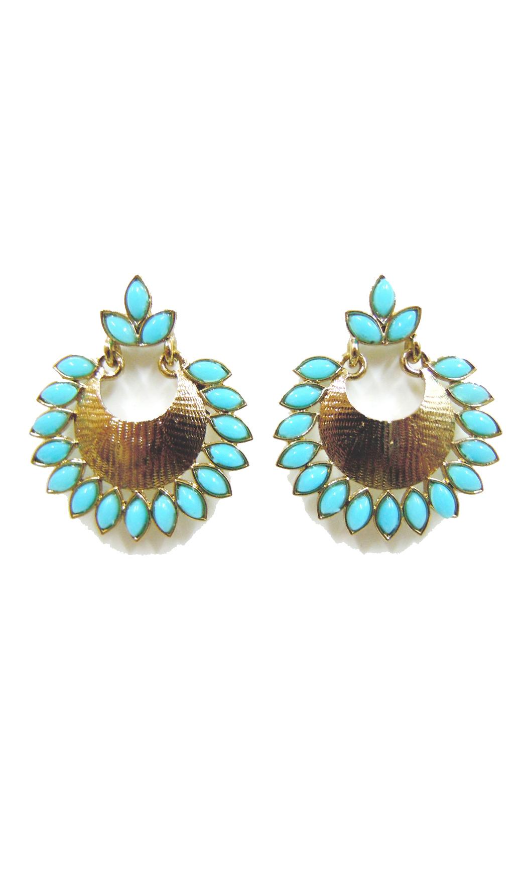 Azure Gold Earrrings - Shop Online