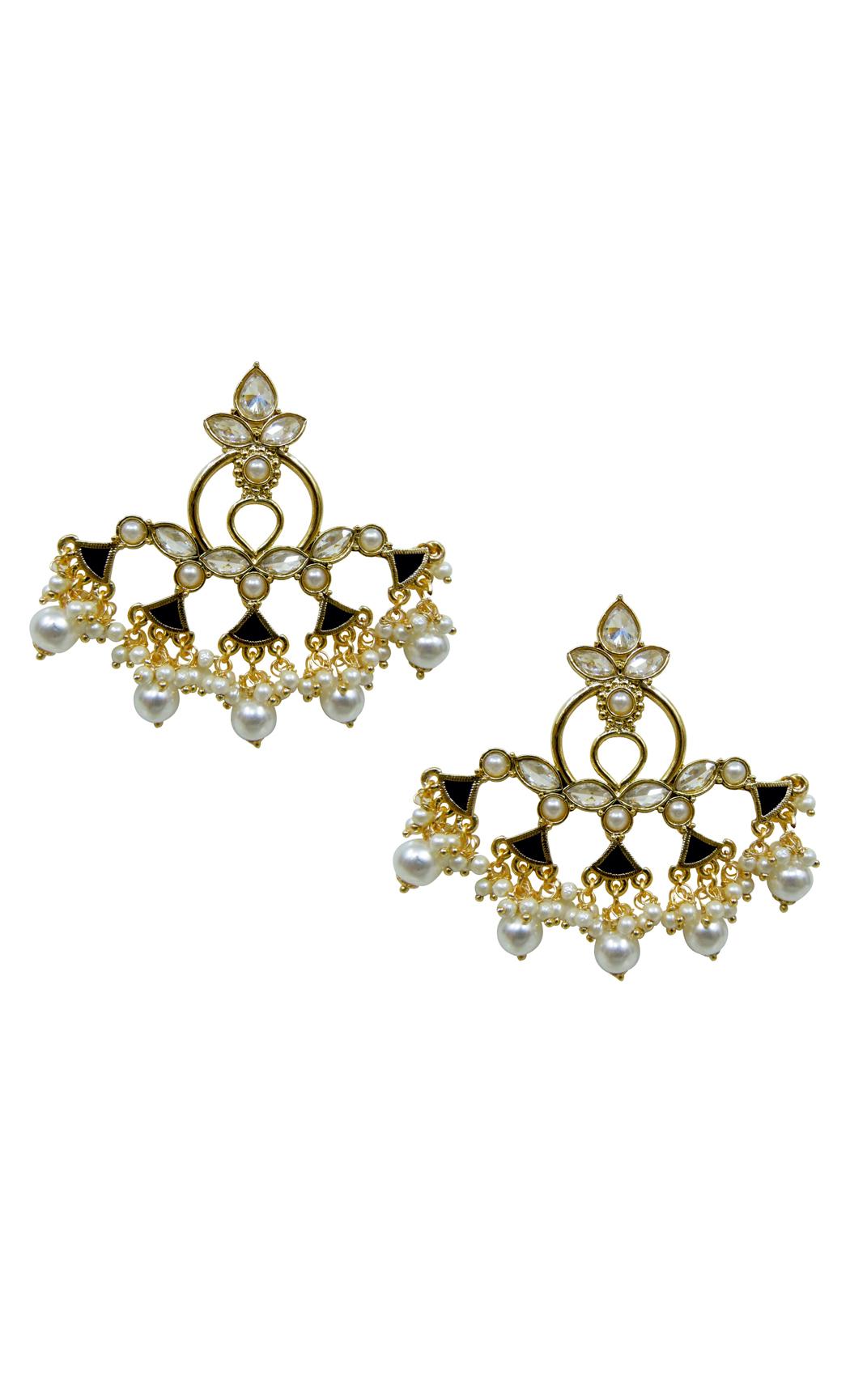 Noir Nacre Earrings - Shop Online