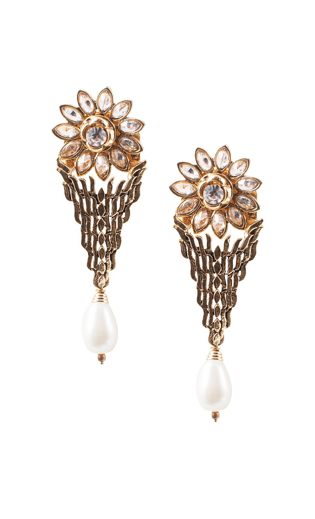 Detachable Pearl Drop Earrings - Shop Online