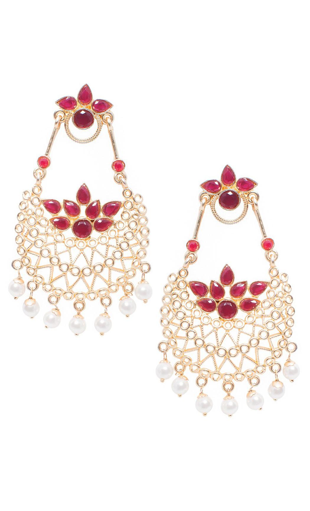 Imperial Pearl Chandelier Earrings - Shop Online