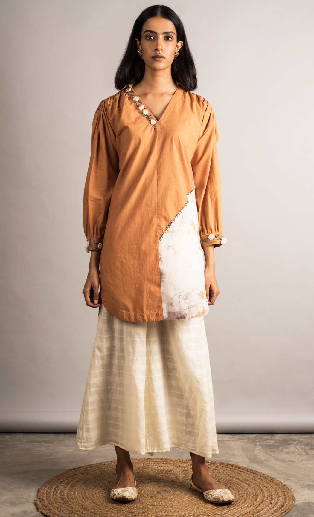 Rust High Low Tunic Set. Buy Online.
