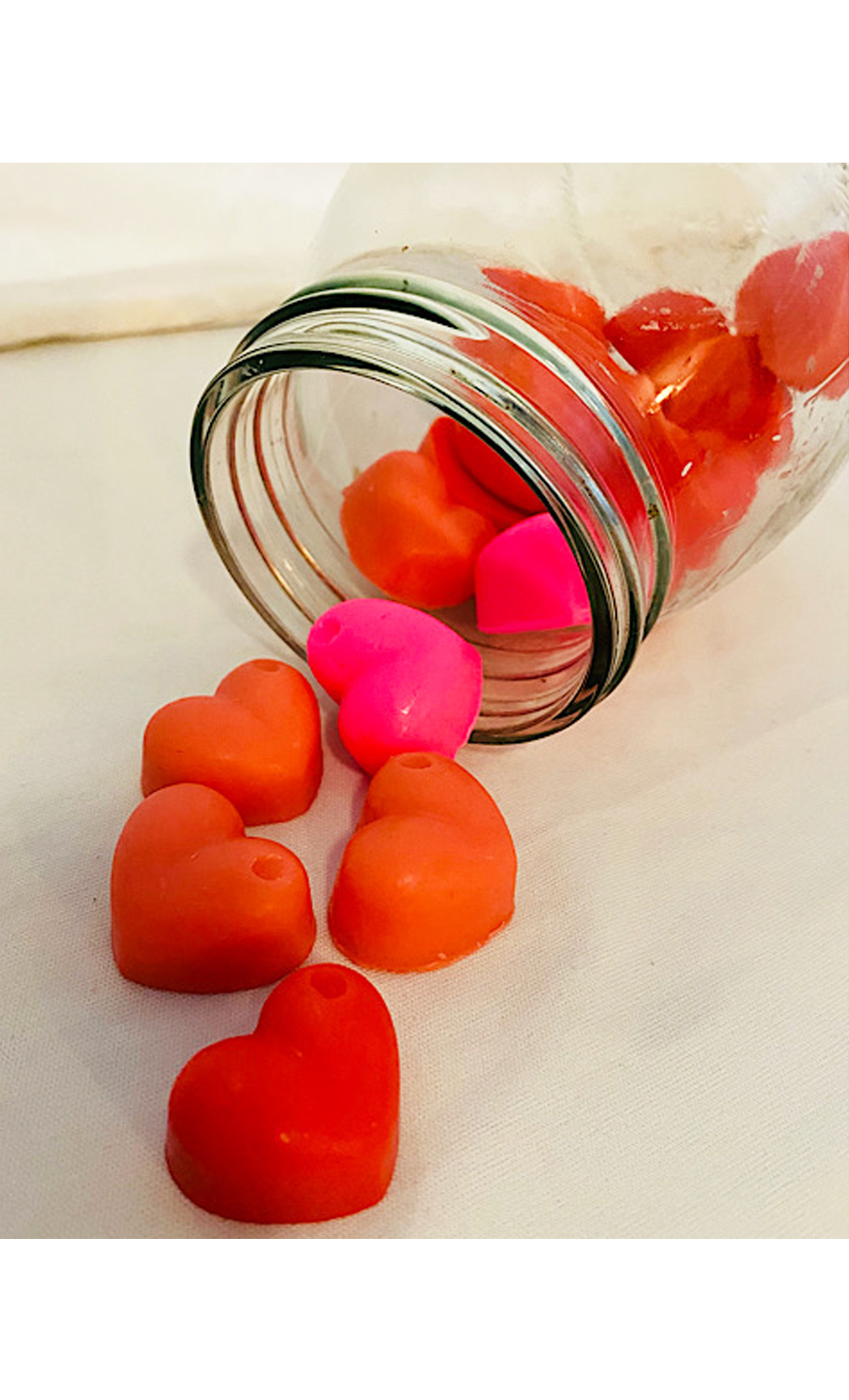 Mini Heart Soap Bar Rose Soap. Buy Online