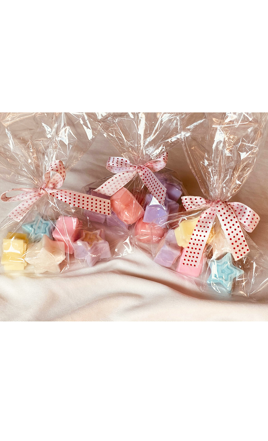 Assorted Mini star/heart Handmade Soap