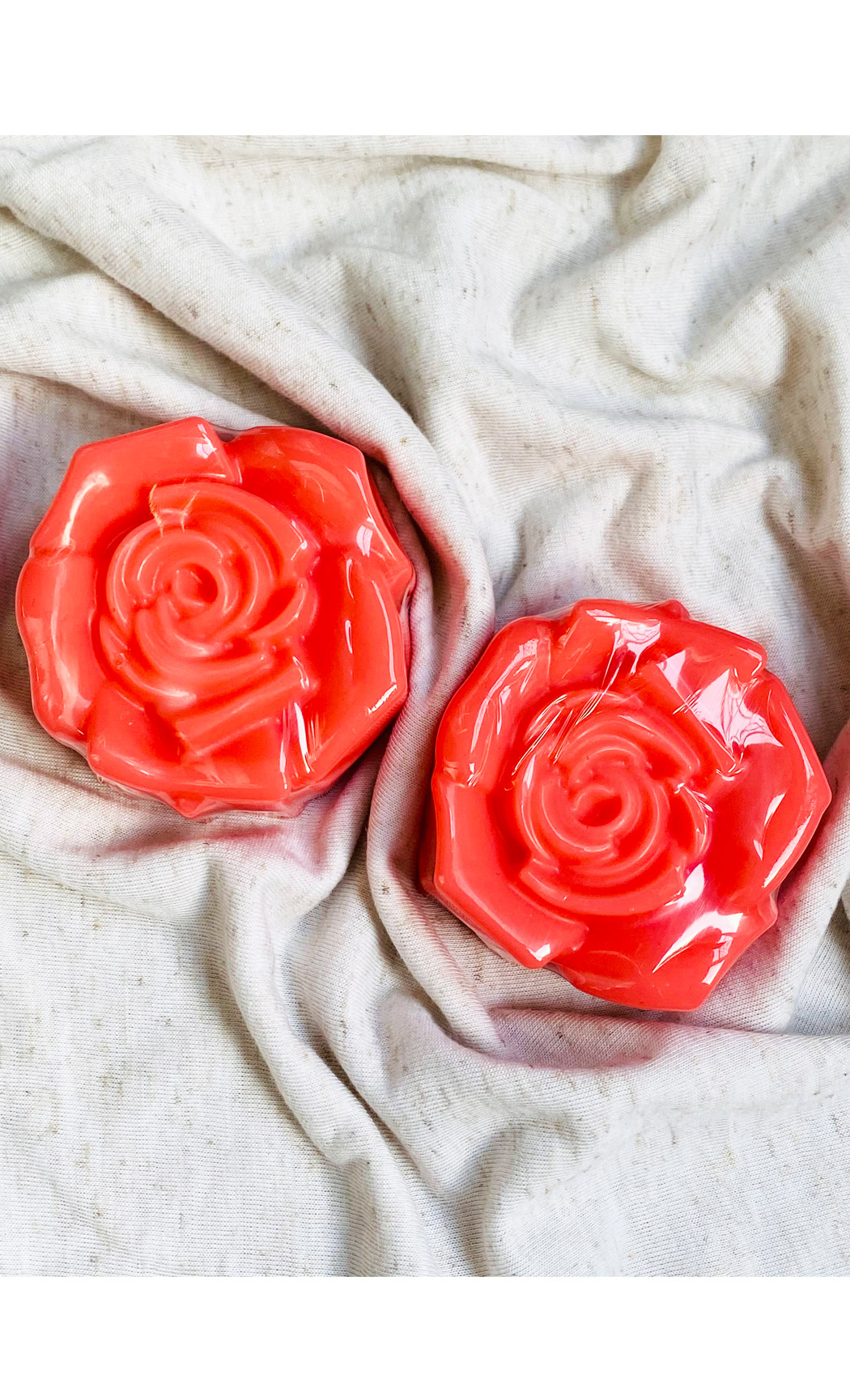 Love is in the air Rose Soap Bar. Buy Online