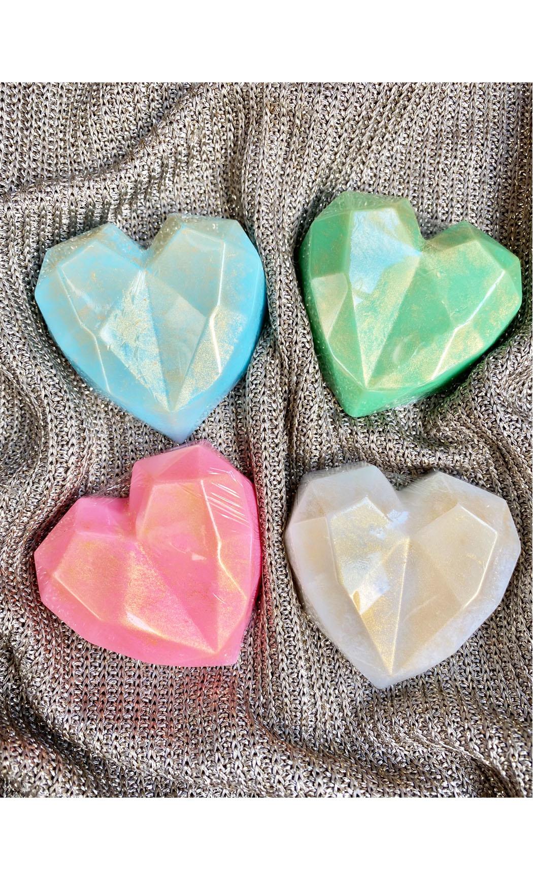 3D Heart Soaps. Buy Online