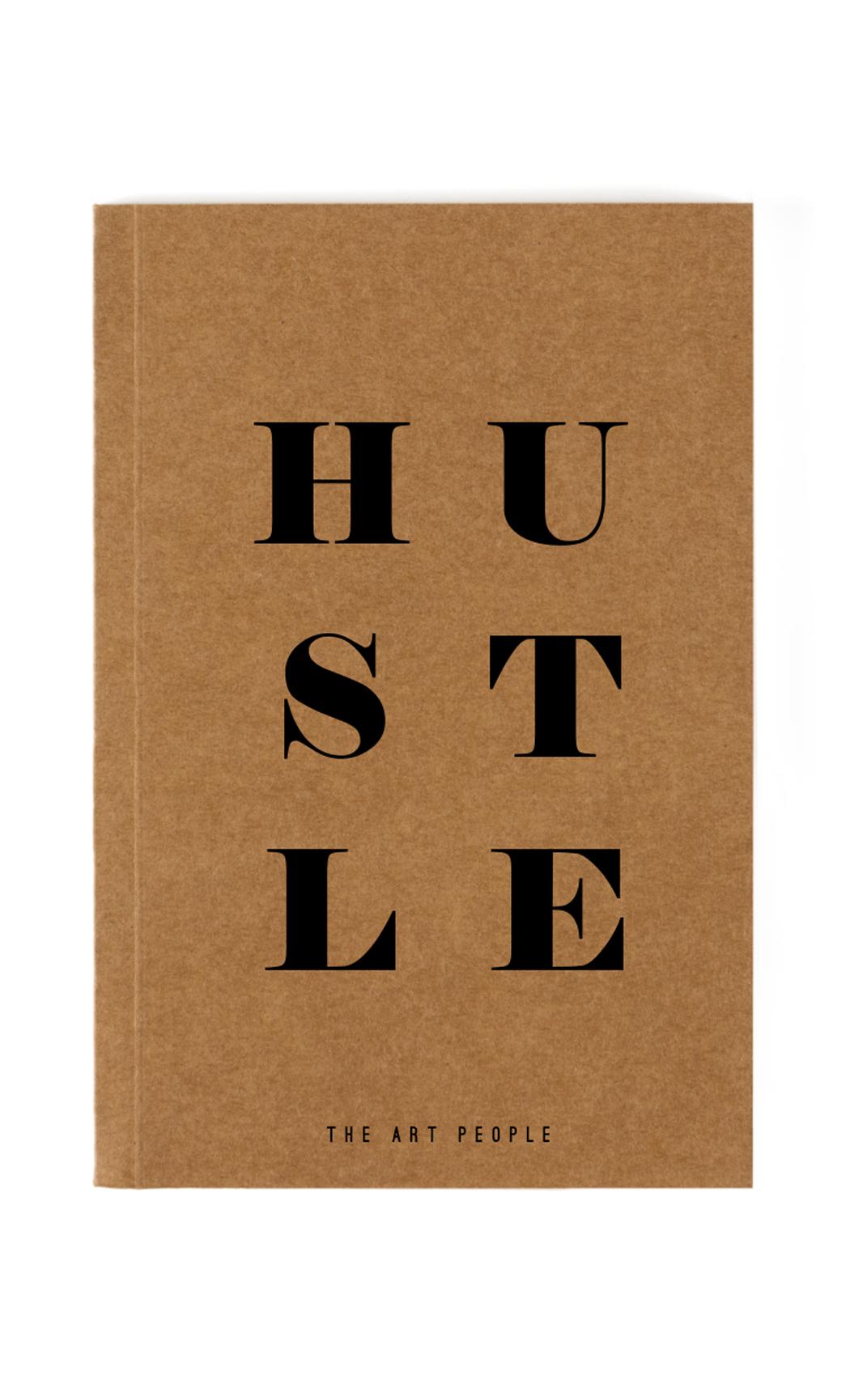 Brown Hustle Notebook. Buy Online.