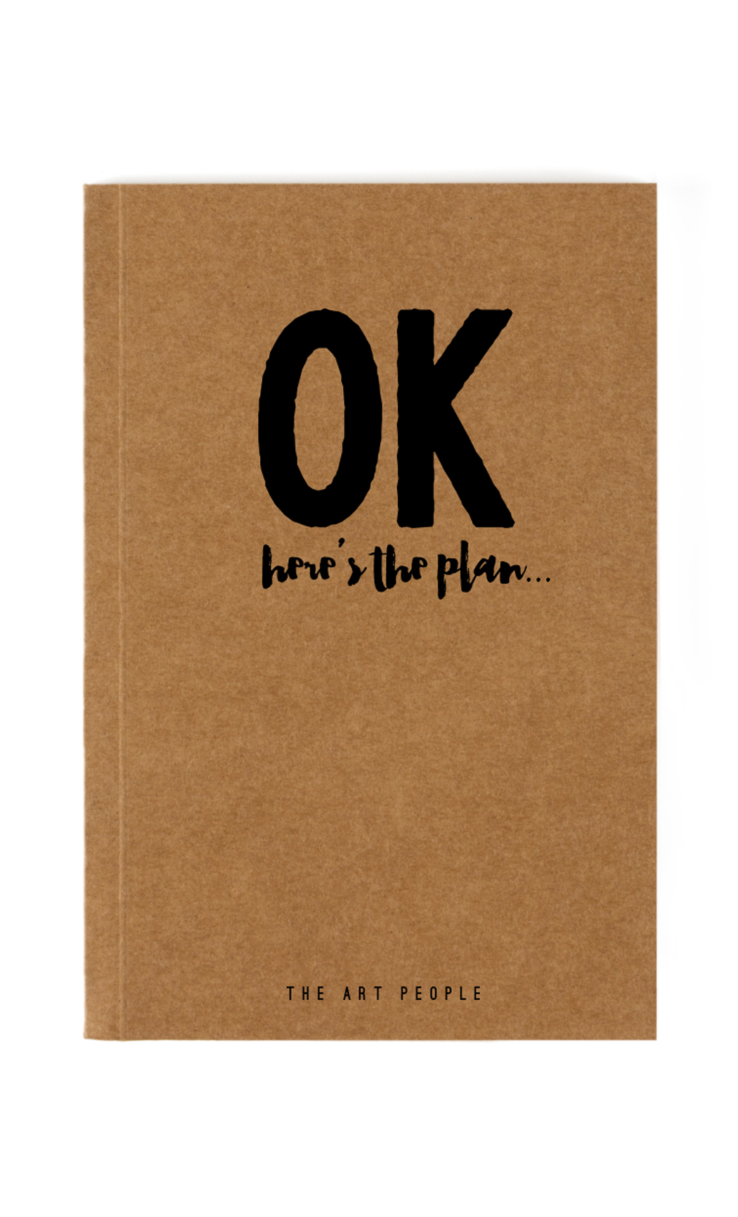 Brown Ok Notebook. Buy Online.