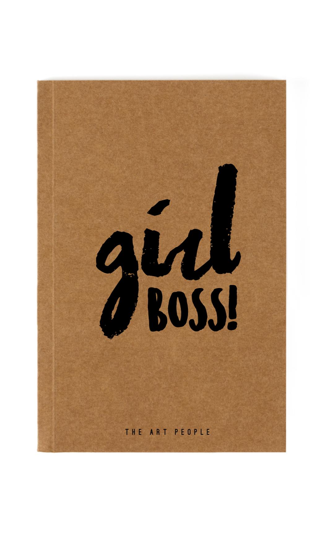 Brown Girl Boss Notebook. Buy Online.
