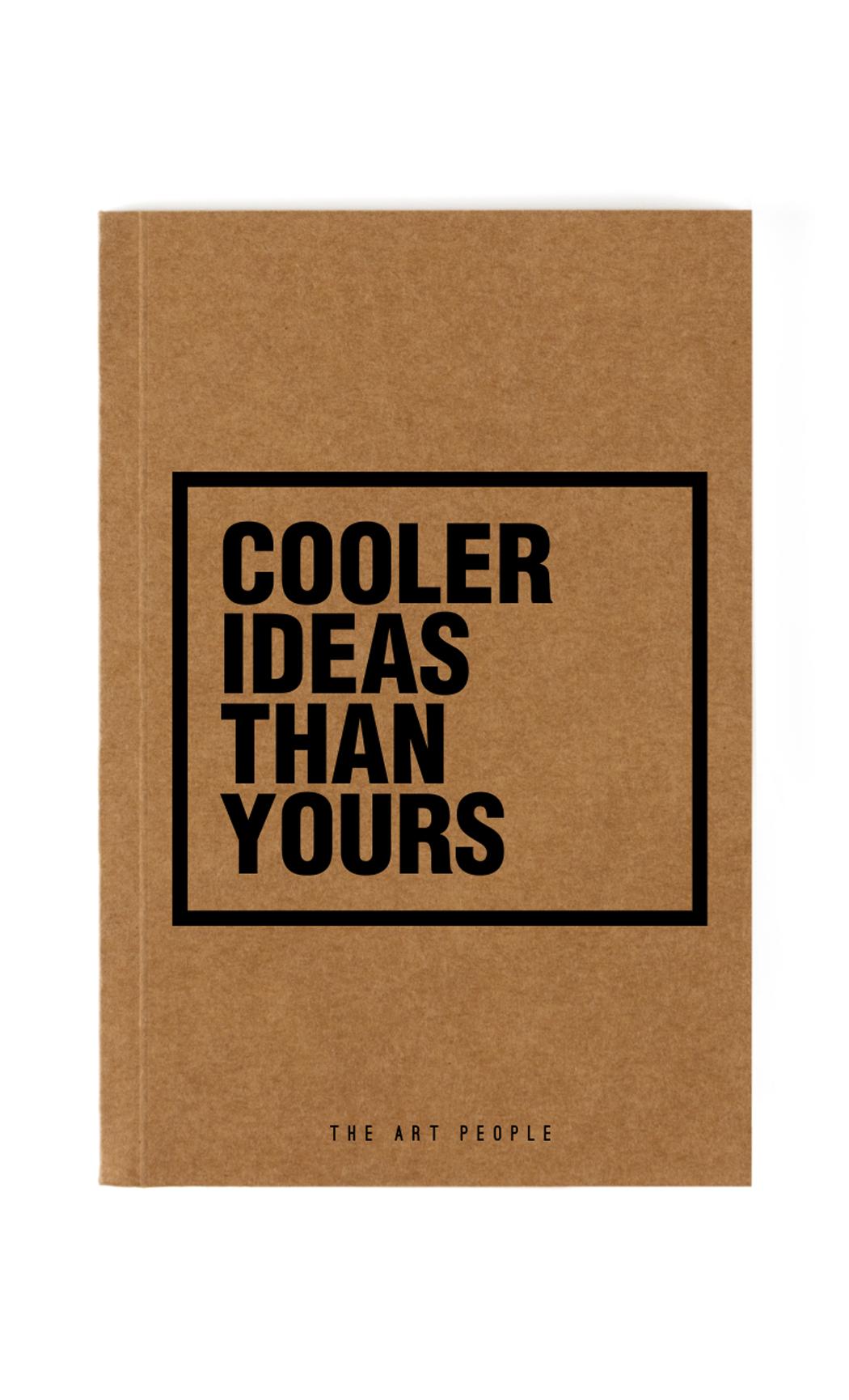 Brown Cooler Notebook. Buy Online.
