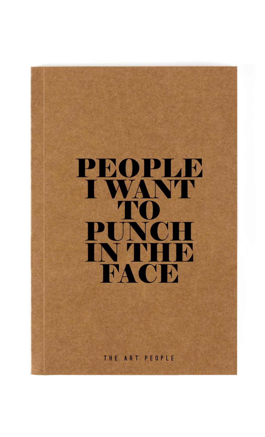Brown Punch Notebook. Buy Online.