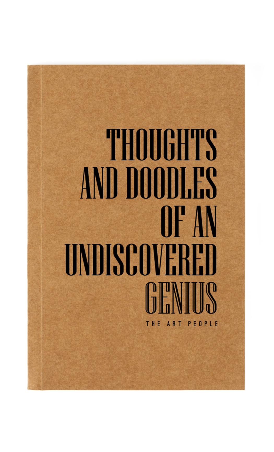Brown Genius Notebook. Buy Online.