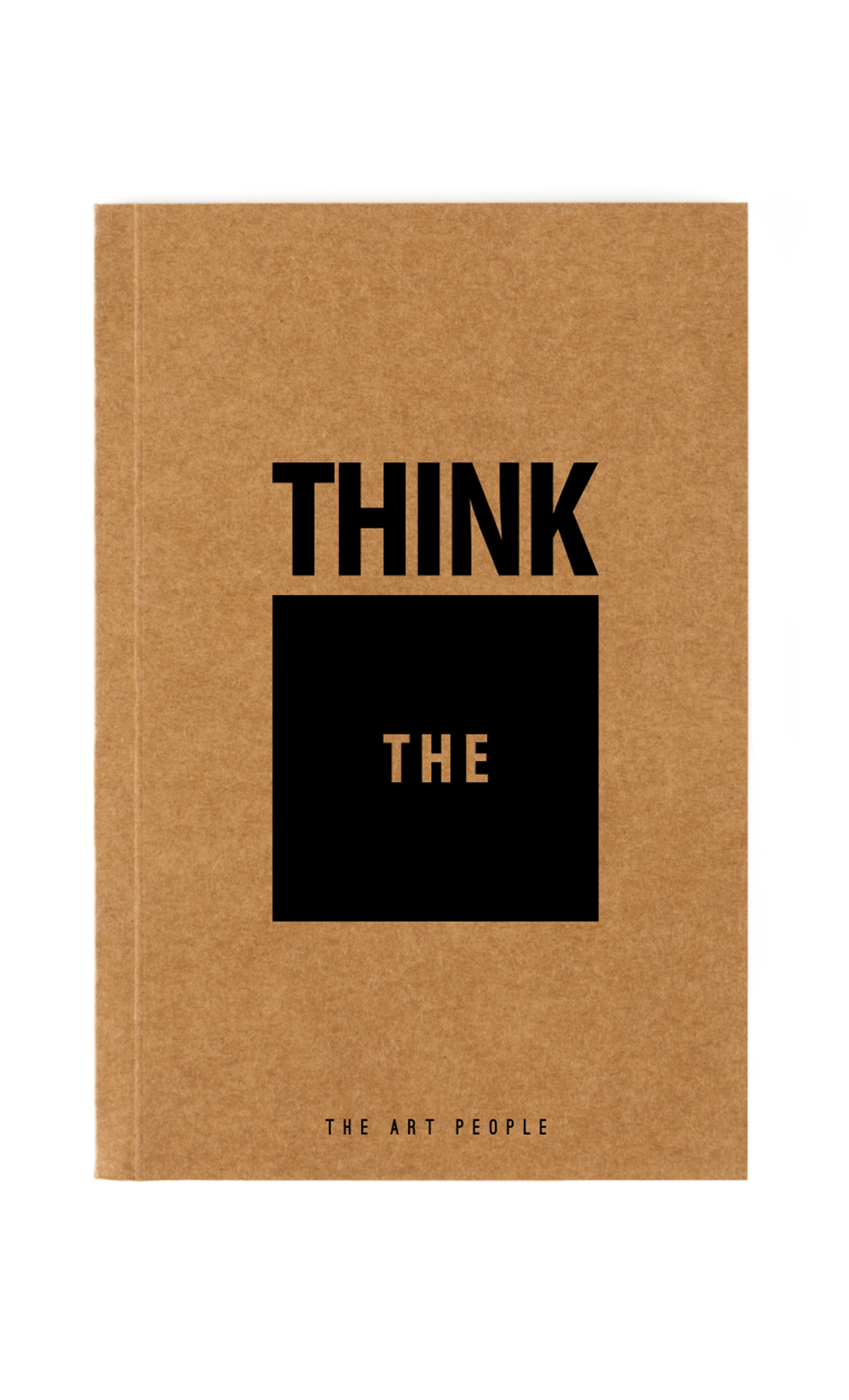 Brown Think Outside The Box Notebook. Buy Online.