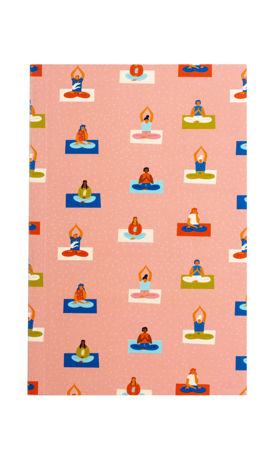 Brown Power Yoga Notebook. Buy Online.