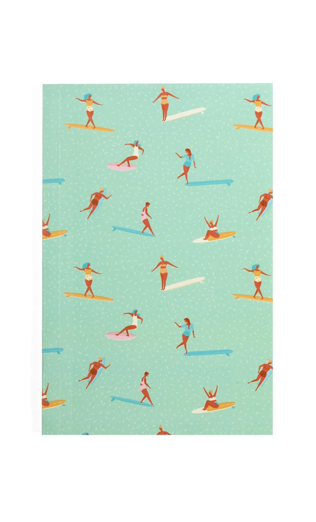 Brown Surfer Notebook. Buy Online.